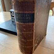 Value of an 1858 Webster's Dictionary