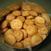 snickerdoodle Cookies in tin