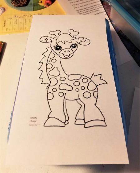 Kids Kar Kit - coloring page print out
