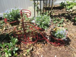 Reviving An Old Outdoor Planter - planter in the garden