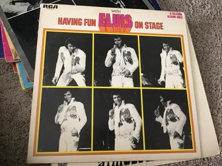 Value of Vintage Elvis Records