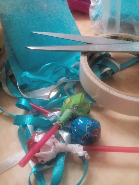Lollipop Bouquet Garland - supplies