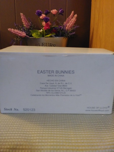 Value of House of Lloyd Easter Bunny Figurines