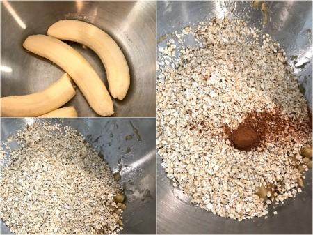 Banana Oatmeal in bowl
