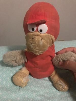 Identifying a Stuffed Toy - stuffed bred plush toy bird