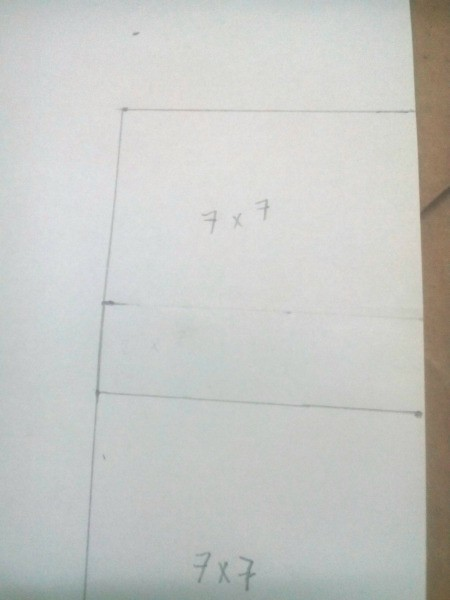 Computer Monitor Corner Decoration - draw a second one right above