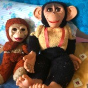 Identifying Vintage Plush Toys - two stuffies