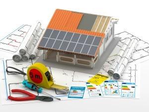 Solar heating plans