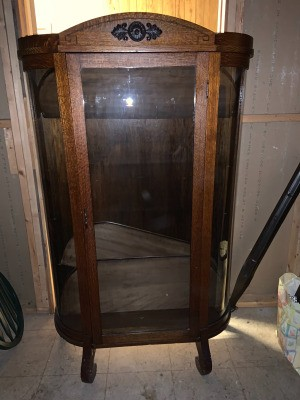 Value of an Antique Curio Cabinet