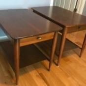 Value Vintage Mersman End Tables