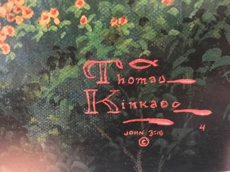 Value of a Thomas Kinkade Print