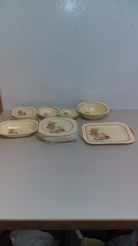 Value of of Homer Laughlin Dishes - partial set