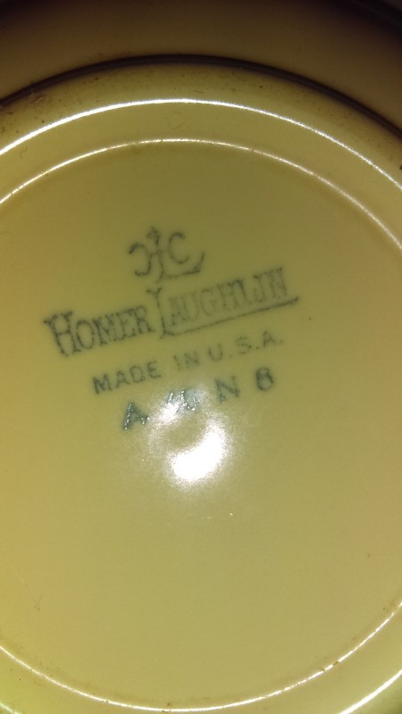 Value of of Homer Laughlin Dishes