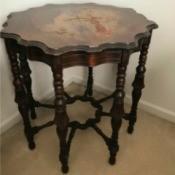 Value of Mersman 8 Legged Table #5000 1-2 - ornate table