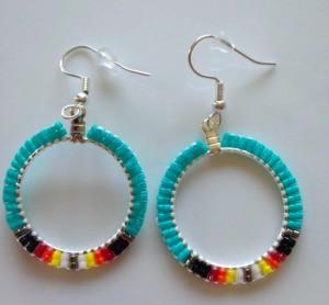 Handmade Beaded Jewelry Shop Name - earrings