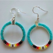 Handmade Beaded Jewelry Shop Name - earrings
