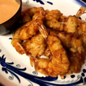 Wonton Shrimp with dipping sauce