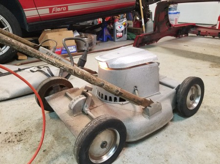 Value and Info of a Scott's Electric Lawn Mower