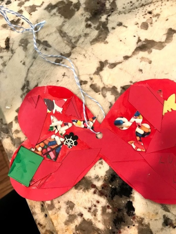 Artwork into Paper Necklace for Kids