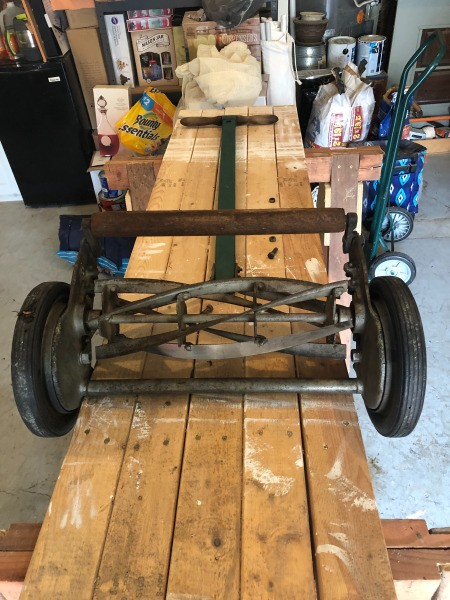 Determining the Value of an Old Reel Mower