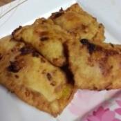 Mango Pocket Pies on plate