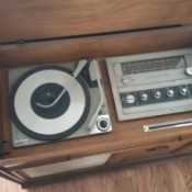 Value of a Console Stereo Radio and Record Player