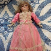 Identifying Porcelain Doll from Germany - very old German porcelain doll