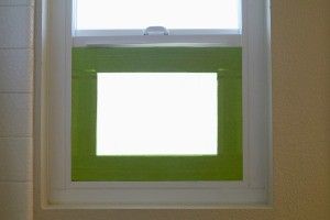 DIY Privacy Screen for Windows - in place