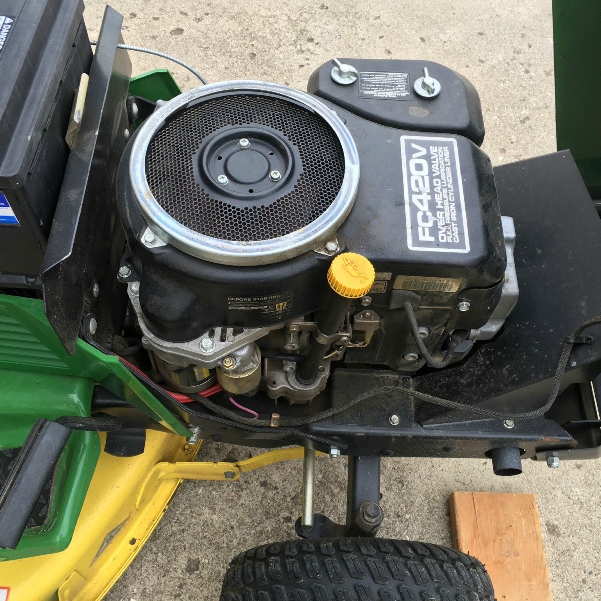 New Batteries Keep Draining On Lawn Tractor Thriftyfun