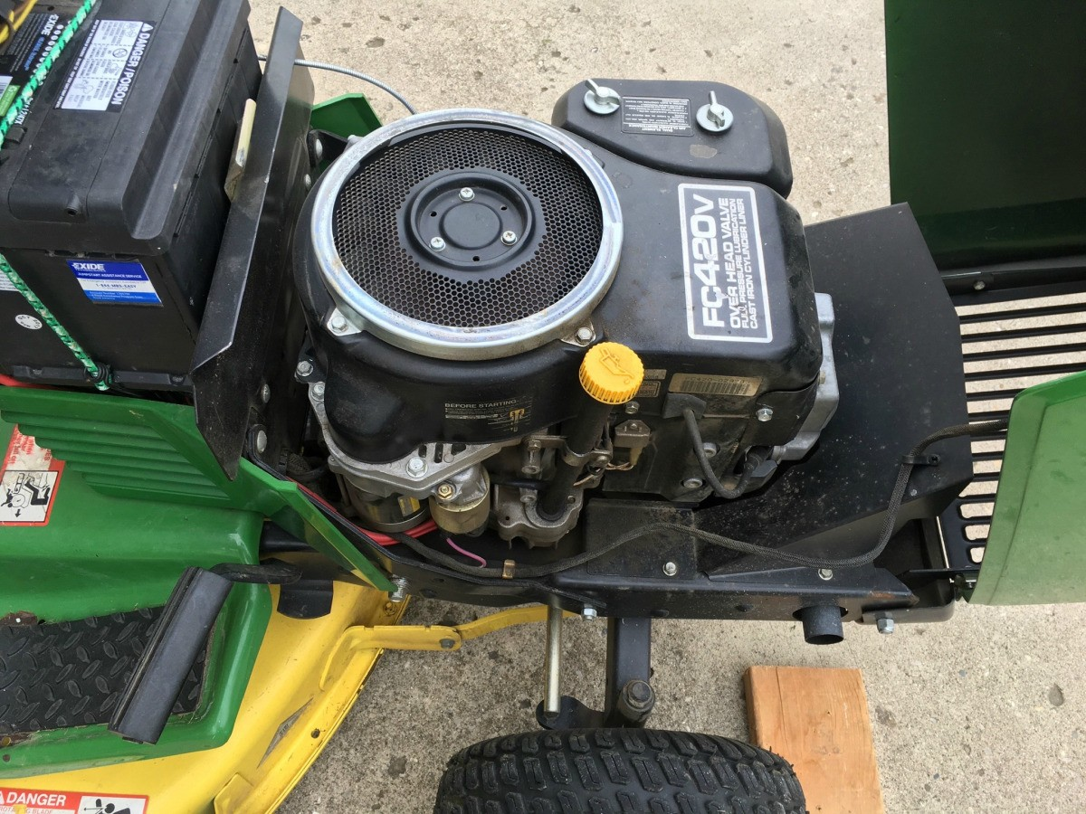 Riding Mower Battery Won't Hold a Charge | ThriftyFun