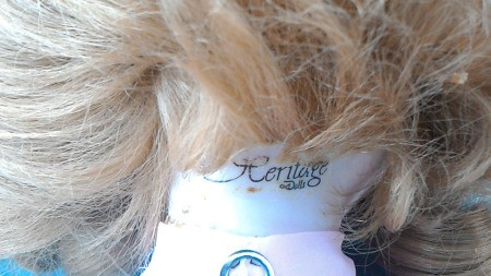 Identifying a Heritage Porcelain Doll
