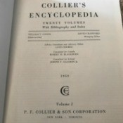 Value of Collier's Encyclopedias - cover page