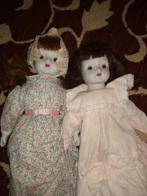 Identifying Two Musical Porcelain Dolls
