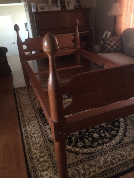 Value of an Antique Acorn Bed