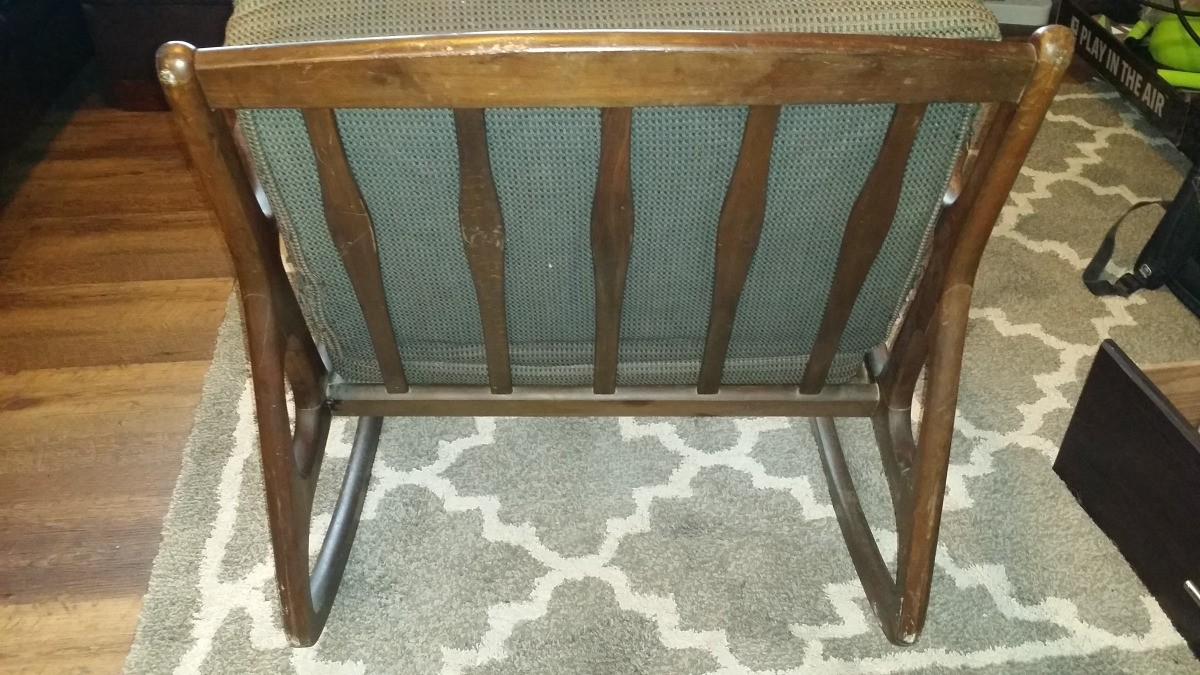 Admirable Value Of A Danish Style Mid Mod Rocking Chair Thriftyfun Lamtechconsult Wood Chair Design Ideas Lamtechconsultcom