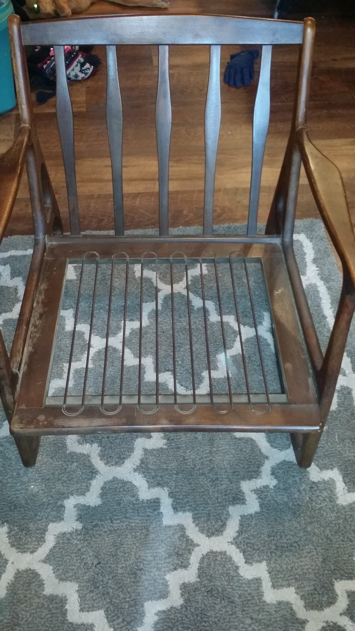 Cool Value Of A Danish Style Mid Mod Rocking Chair Thriftyfun Lamtechconsult Wood Chair Design Ideas Lamtechconsultcom