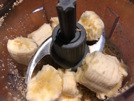 Banana added to Walnuts