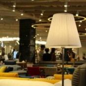 A furniture store with lots of furniture.