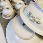 Value of Meito/N.S.R. Dinnerware   - stacks of the dinnerware