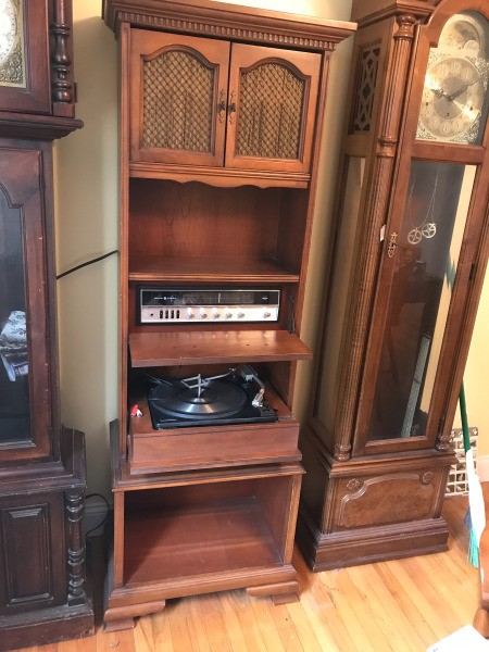 Value of a Vintage General Electric Console Stereo System | ThriftyFun