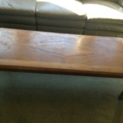 Value of a Mersman Waldron Coffee Table