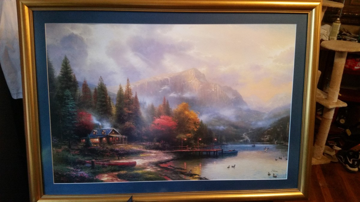 Finding The Value Of A Thomas Kinkade Print