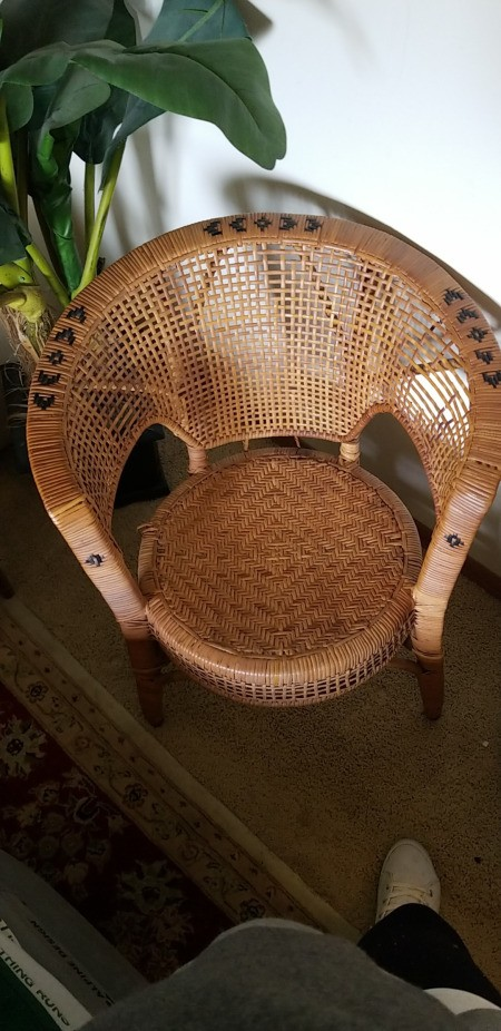 Value of a Vintage Wicker Chair