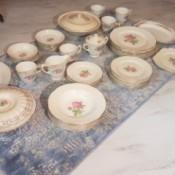 Value of Cunningham & Pickett China - dinnerware