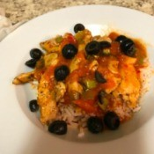 Salsa Chicken over Rice