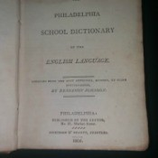 Value of an Old Dictionary - cover page