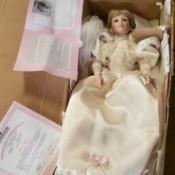 Value of Ashton Drake Porcelain Dolls - bride doll