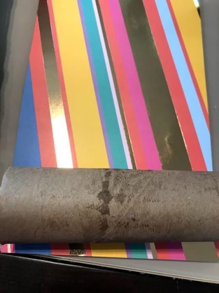 DIY Paper Towel Roll Kaleidoscope - wrap the tube in scrapbook paper