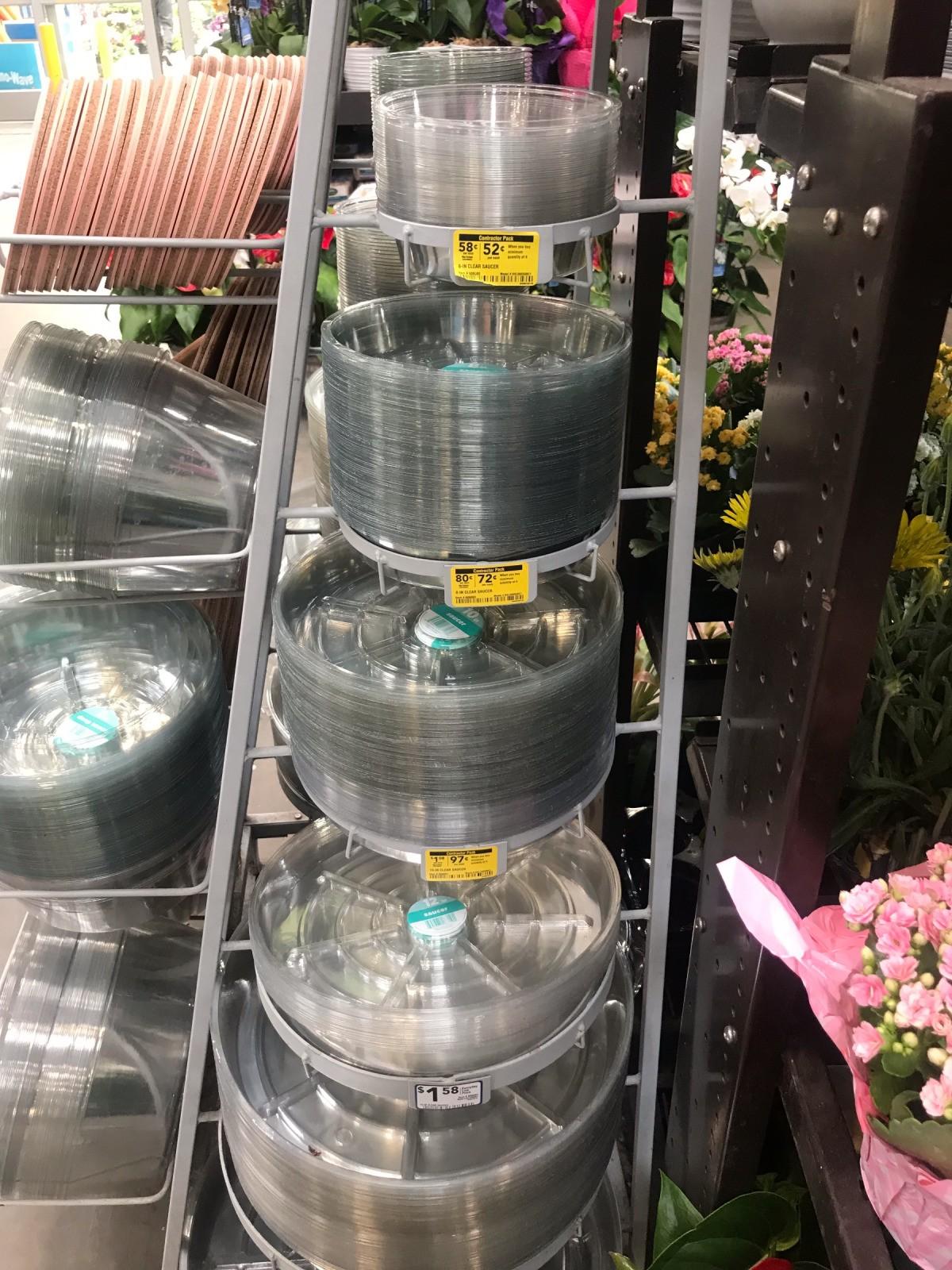 Alternatives To Plastic Flowerpot Saucers Thriftyfun