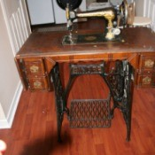 Value of a Singer Treadle Sewing Machine